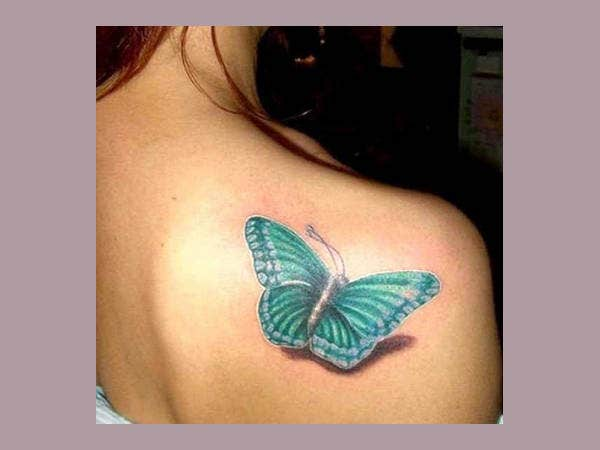Small 3D Tattoo For Girls