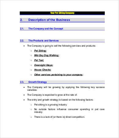 Daycare Business Plan Free Word PDF Documents Download - Business plan template for child care center