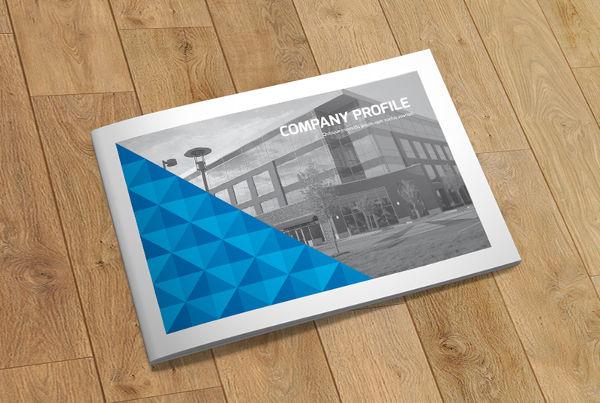 Free Indesign Geometric Brochure