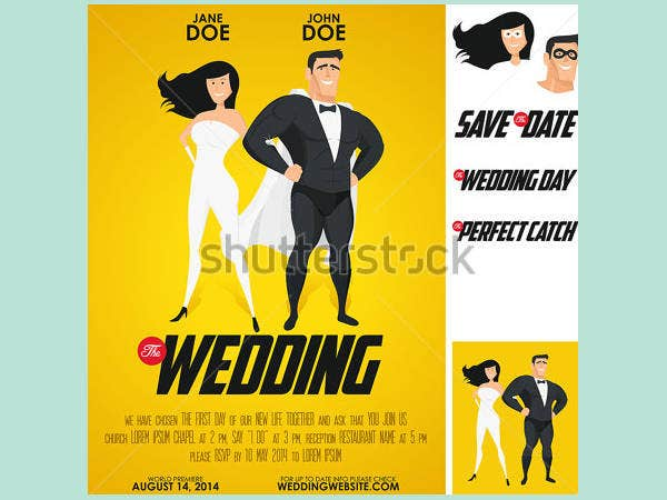 9 Funny Wedding Invitations Free Psd Vector Eps Png Format