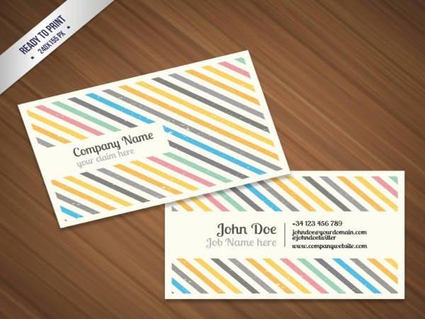 Free Editable Printable Business Card Templates
