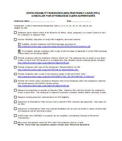 supervisors things to do list template