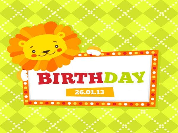 9 Free Animated Birthday Cards – Free Animated Birthday Invitations