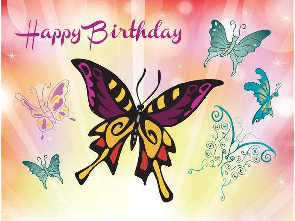 Free Animated Happy Birthday Wish Card