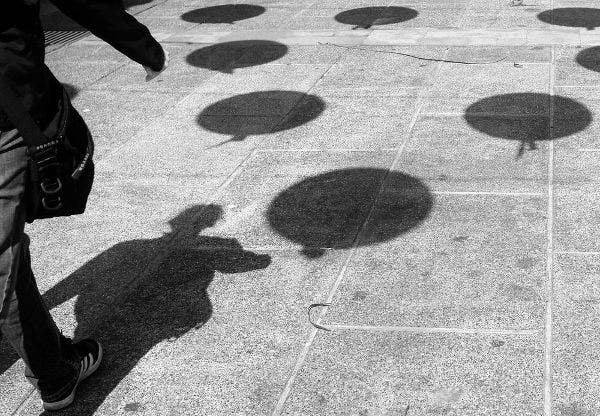 Shadow Photography of Balloons