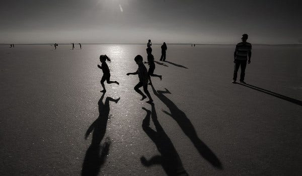 Beautiful Shadow Photography of Kids