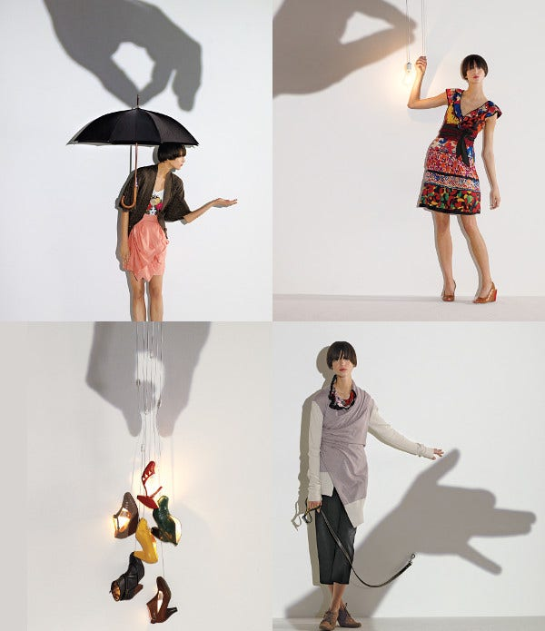 Shadow Photography Advertising
