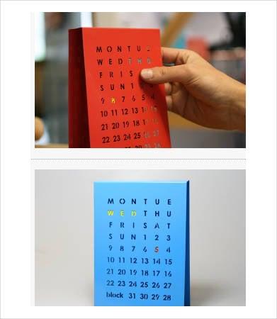 Free Printable Perpetual Calendar Template