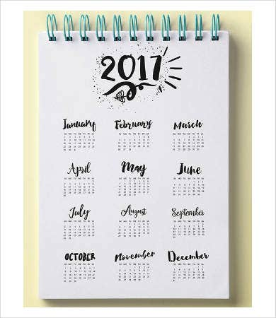 Free Printable Photo Calendar Template