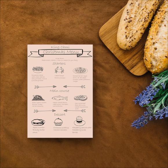 branding restaurant menu1