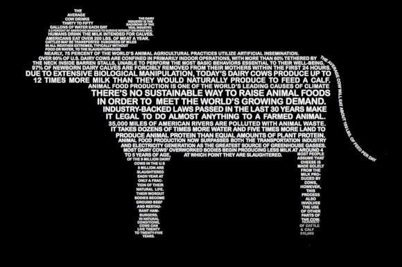 creative animal typography art