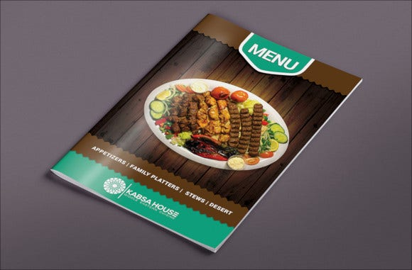 creative menu design1