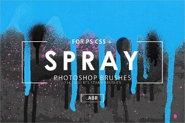 Spray Graffiti Brushes
