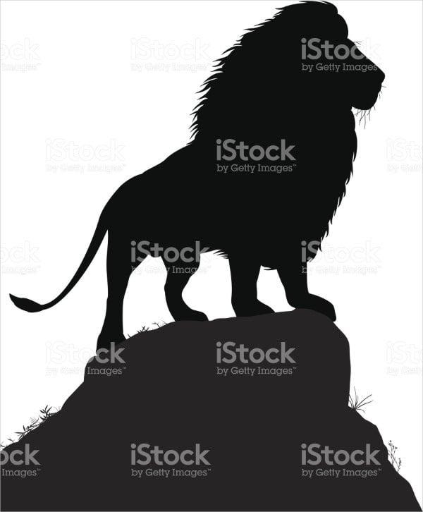 mountain lion silhouette1