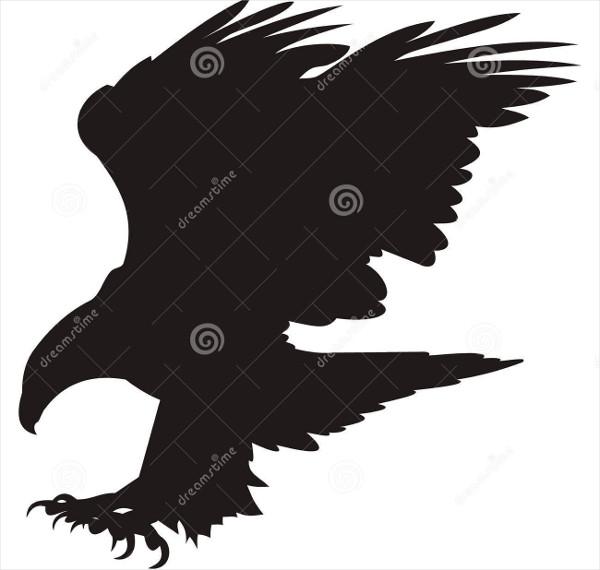 harpy eagle silhouette