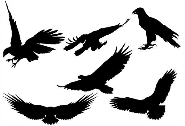 Free Eagle Silhouette Vector