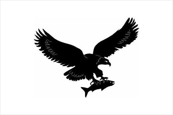 eagle silhouette clipart