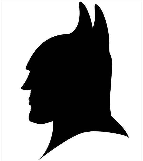 Batman Head Silhouette