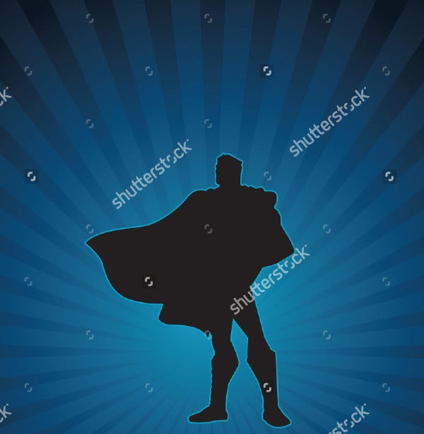 Batman Silhouette Vector