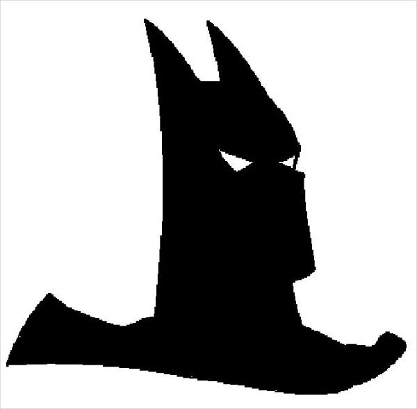 Batman Face Silhouette