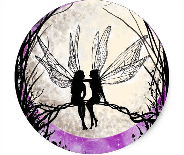image about Fairy Silhouette Printable referred to as 10+ Fairy Silhouettes Totally free Top quality Templates
