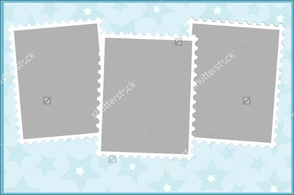 photo frame greeting card