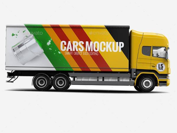 cargo-truck-mockup