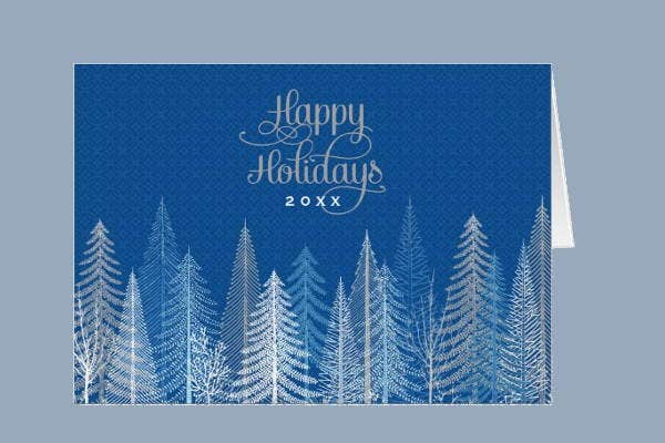 8 business holiday cards printable psd eps format download business holiday greeting card m4hsunfo Choice Image
