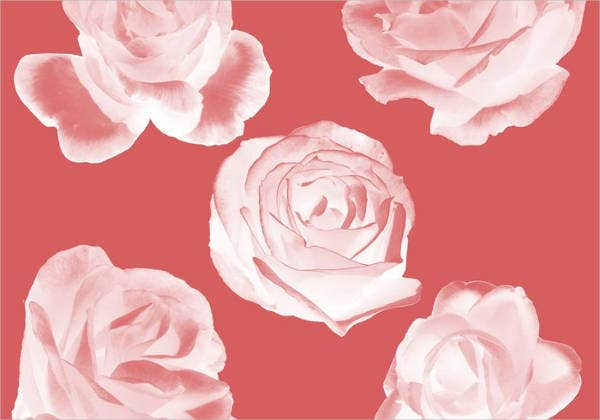 rose stencil photoshop brushes