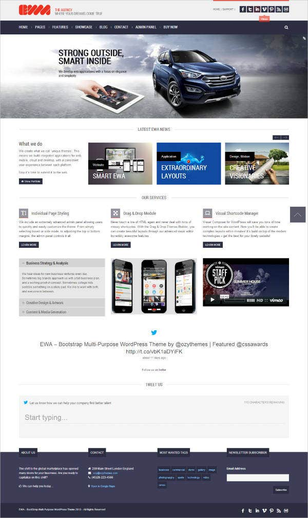 free-bootstrap-multipurpose-template