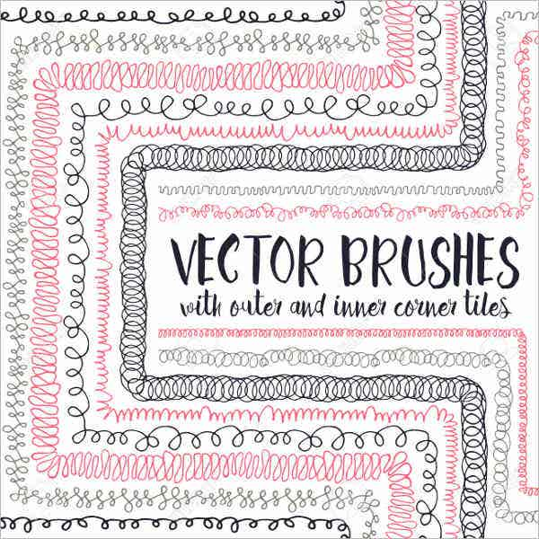Free Vector Hand Drawn Brushes