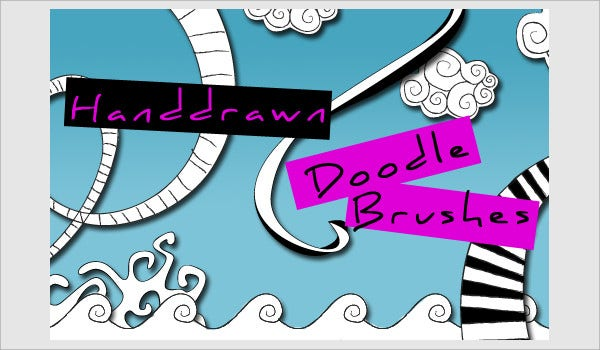 Hand Drawn Doodle Brushes