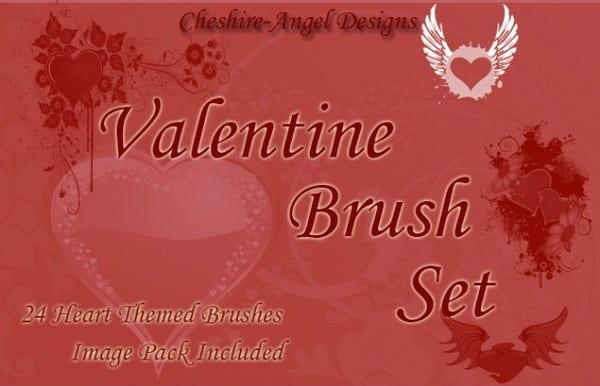Valentines Day Brushe Set Free Download
