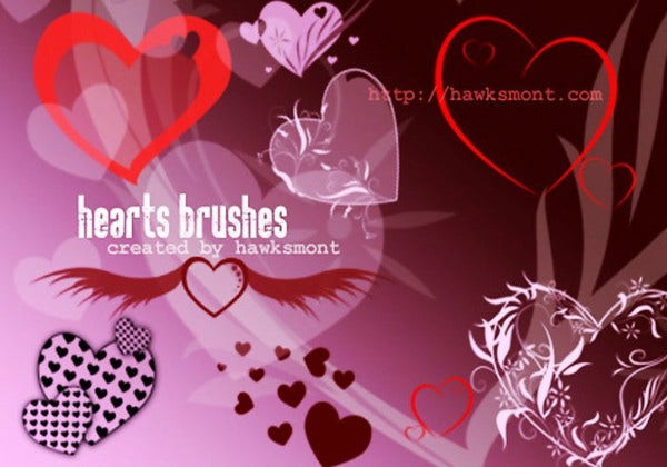 Happy Valentines Day Brushes