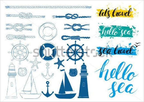 nautical calligraphy font