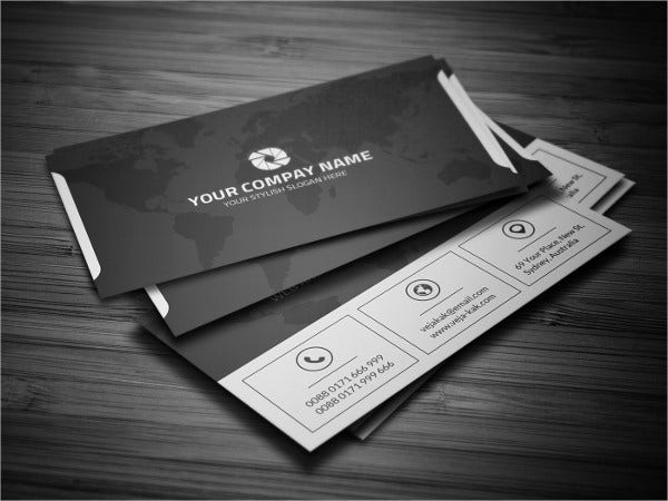 free corporate business card template2