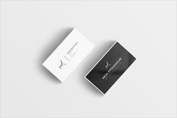 Free business card templates 9 free psd vector ai eps format free printable business card template friedricerecipe Gallery