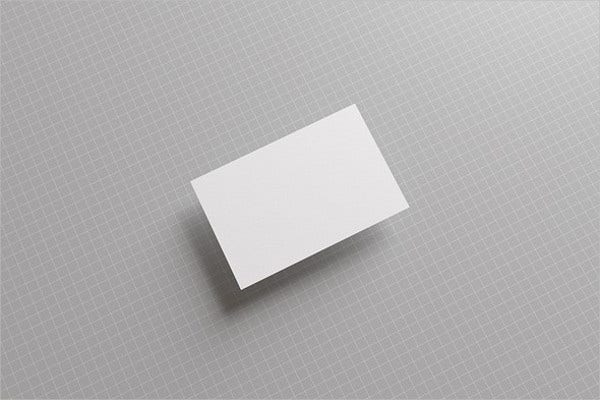 plain business card template