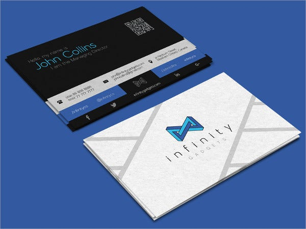 free modern business card template2