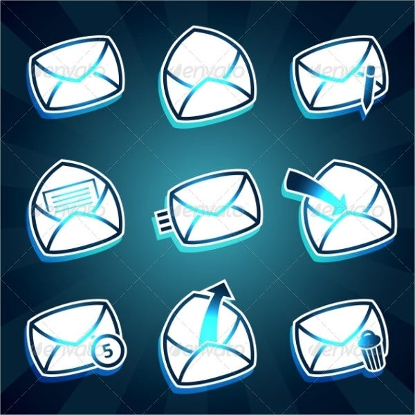 Email Envelope Icons