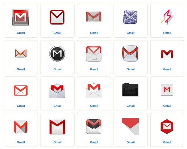 google email icon