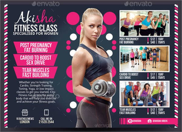 Fitness Flyers - 8+ Free PSD, Vector AI, EPS Format Download ...