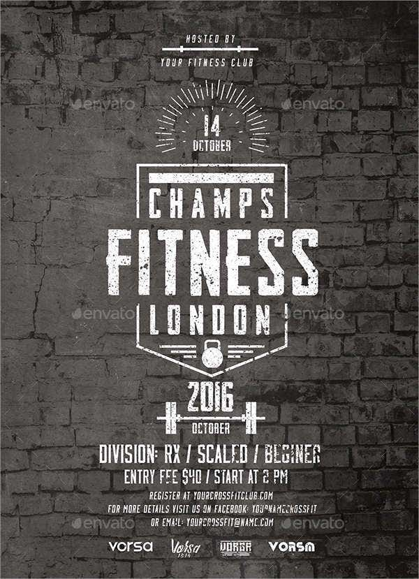Fitness Event Flyer