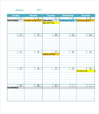blank monthly calendar templates2