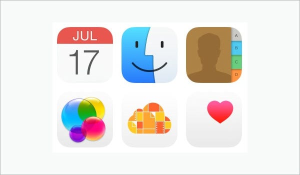 Apple Mac Icons