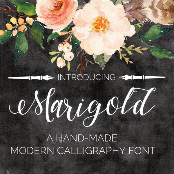 hand drawn lettering font