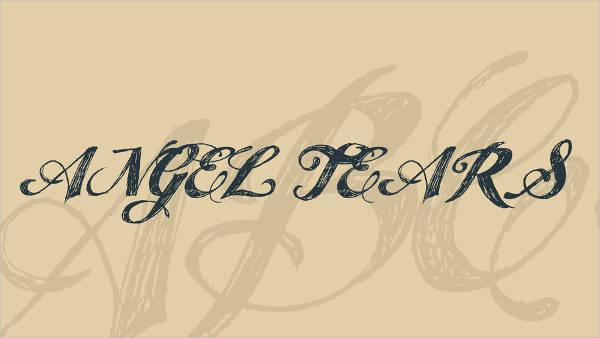 Hand Lettering wedding Font