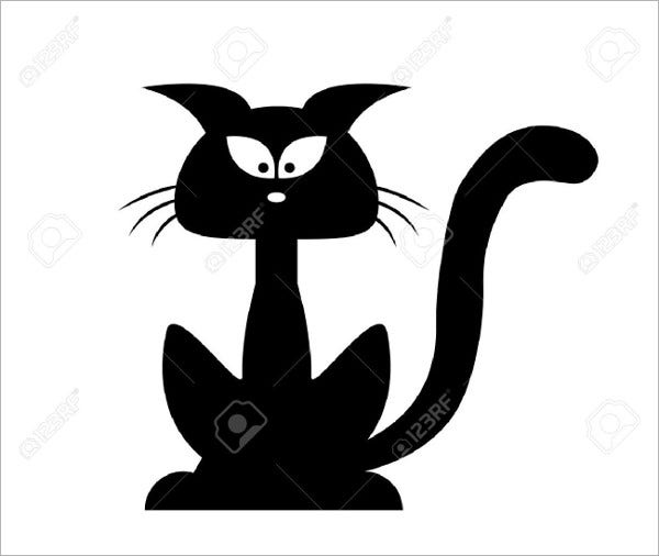 9+ Cat Silhouettes PSD, EPS, Vector Illustrations | Free & Premium ...