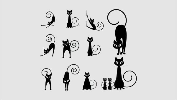 catsilhouettes