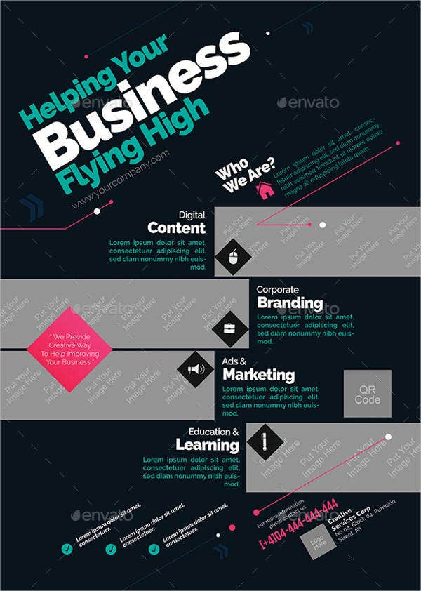 Corporate Flyer Template 12 Free Psd Vector Eps Png Format